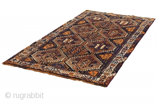 "Qashqai - Shiraz Persian Carpet 8'10""x4'3""(270cmx131cm) See more details here: https://www.carpetu2.co.uk/id/nmd4593-4586/Persian,Nomadic,Antiques,Offers,Qashqai,Shiraz/"