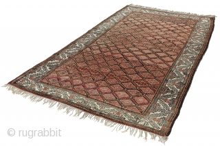 "Baluch Carpet 10'0""x5'10""(307x180cm) See more details here: https://www.carpetu2.co.uk/id/ant064-118/Nomadic,Antiques,Offers,Kurdi,/"