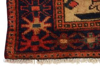 """Lori - Bakhtiari Persian Carpet 6'2""""x3'7""""(190x110cm) See more details here: https://www.carpetu2.co.uk/id/ant115-3459/Persian,Nomadic,Antiques,Offers,Lori,Bakhtiari/"""