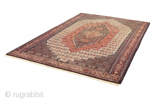 "Senneh - Kurdi Persian Carpet 10'9""x6'9""(328x208cm) See more details here: https://www.carpetu2.co.uk/id/unq3368-9920580/Persian,Nomadic,Antiques,Offers,Popular,Senneh,Kurdi/"