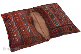 Bakhtiari - Saddle Bag Persian 130x94cm. Synthetic colors. More details https://www.carpetu2.com