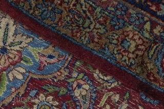 Kerman Lavar Persian Carpet. View more https://www.carpetu2.com/