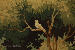 Antique French Tapestry. Over 120+ years. Click to view more https://www.carpetu2.com