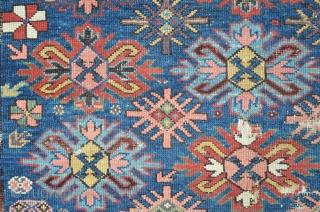 East Caucasian Carpet Fragment, 175 x 130 cm
