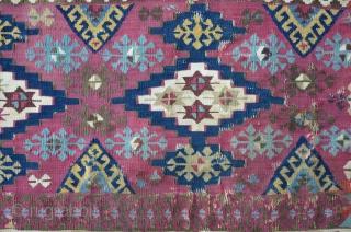 Two Anatolian Kilim Fragments, 157 x 98 cm