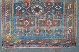 Antique Shirvan 203 x 135 cm, Original condition
