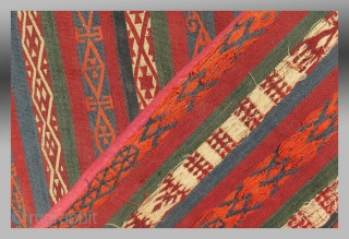 """Uzbek Flat Woven """"Bokche"""", Central Asia, 19th C.  Please inquire for further images/information"""