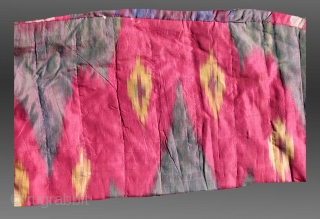 Uzbek Ikat Child's Coat, Central Asia, 19th C.