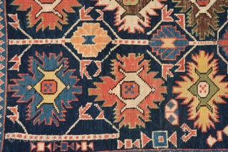 Rare Shirvan rug, 19th Century and in very good condition. Size is 150 x 109 cm
