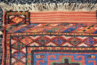19th Century Kurdish bag, size is 53 x 53 cm