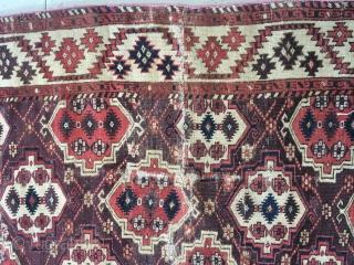 Chodor Main carpet circa 1850  354 x 222 cm