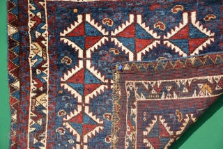 Exceptional Kamseh pair, 19th century, sizes are 66 x 60 & 67 x 59 cm