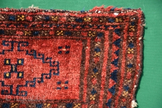 1900 Small cute Uzbek beauty, 55 x 25 cm, full pile, more lovely colours then pictures and washed.
