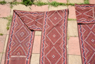 Yomut Tent Band Complete one(1470 x 55) cm and (48.22 x 1.80) in ft, It was made in the first half of 20th century and is still in very good condition. It  ...