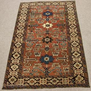 Perepedil rug.caucasian shirvan.160x104cm 5.2x3.4 feet