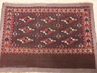 yamud chuval cm 1.10 x 0.80  1880/1890  circa