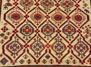 caucasus  daghestan  prayer  rug  cm 1.52 x 0,87  1880  circa good  condition  fine quality