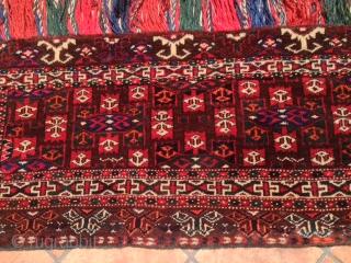 turkmen  yamut cm .090 x 0.38  1930/50  circa