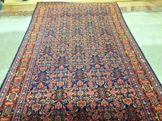 antique Persian Sene runner cm 7.50 x 1.05