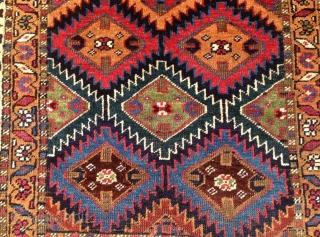 nordwest  persian   kuchan kurdish  cm 1.65 x 1.30   1880  circa  natural  colors