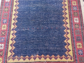 antique caucasian  talish  2.35 x 1.01  1880  circa