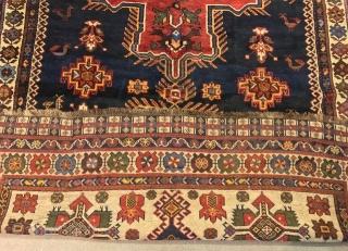 ANTIQUE PERSIAN  Qashgai  CM 3.75 X 1.60  GOOD  CONDITION