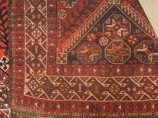 ANTIQUE SHIRAZ PERSIAN   CM 3.12 X 1.75 GOOD CONDITION