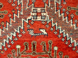 # 663 Luri Main Carpet, 162/314 cm, Southwest Persia, late 19th century, best natural dyes only, fair pile, washed and ready for display. 