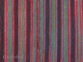"Shahsavan wool jajim kilim,  8 panels.  in size,  82"" X 70"" --208 cm X 178 cm"