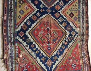 Qhasgai gabbeh carpet size 220x155cm