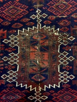 Beluch prayer rug 230x125cm