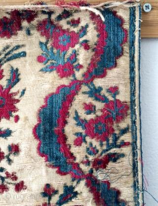 Istanbul uskudar catma velvet fragmand size 104x60cm