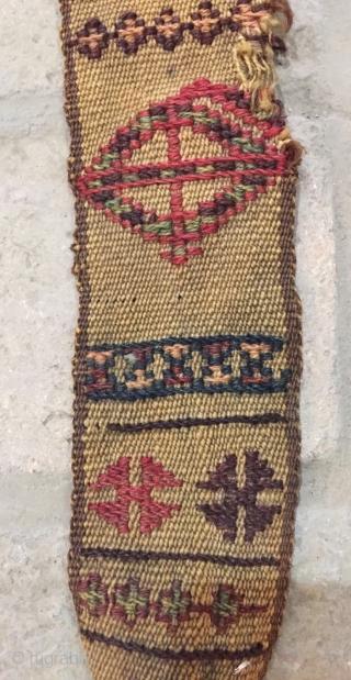 Shahsavan band size 190x6 cm