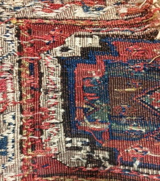 Shahsevan panel very old size 98x46cmm