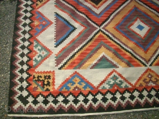 Qashqai Kilim. Size: 186 x 266 cm. Good condition. Not washed.