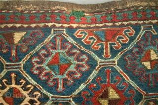 Shah-Savan bag face. size: 50 x 52 cm. Sumakh.