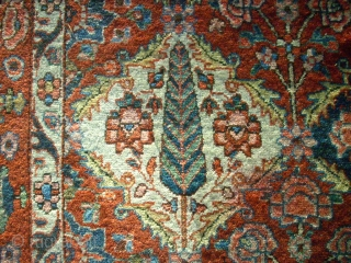 Bachtiar rug. Size: 144 x 210 cm. Used. All natural colors.