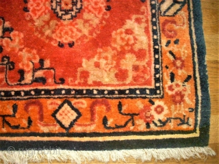 Tibetan mat. Size: 66 x 68 cm. Perfect condition.