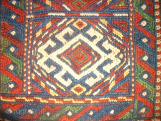 Kordi Quchan flatwave saltbag. Size: 31 x 44 cm. Top condition.