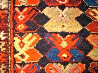 Caucasian Karabagh. Size: 121 x 285 cm. 2 small repairs.