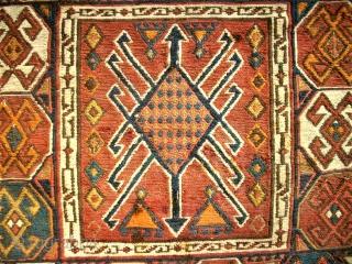 antique Sha-Sawan bag. Size: 42 x 108 cm. Used.