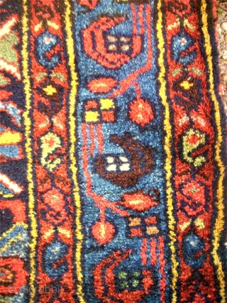 Perfect, wonderful persian kurdish Kolai runner. Size: 104 x 394 cm. Natural Colors.
