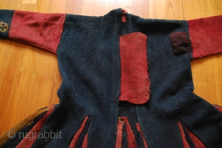 Lot # 111 Fine Handstitched Tibet Coat with Tigma work. Wovensouls is an online gallery registered in Singapore. SOLD