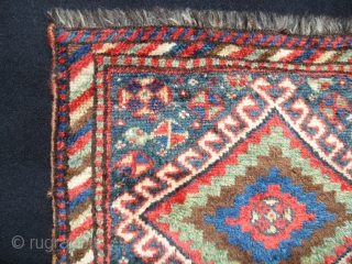 Luri bag face. in very good condition and good pile.all colours are natural. Age 1880s. Size 58x55cm