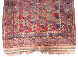 "Rare Beshir rug, Amu Darya valley, 19th c. (10'1"" x 5'1"")(308 cm. x 156 cm.)"