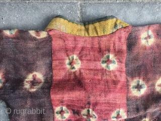 # 1805, Tibet felt frock. Women lama wear, good condition. size( 180x67cm), (70x26'')