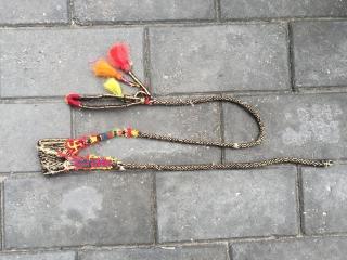 #1629 Tibet handicraft, It is the daily utensils of Tibetan nomads .about long 150cm.
