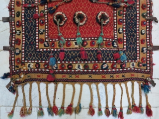 A Beautiful Qhashqhai Cradle Shilaky Wool on wool Age: about 80 years 