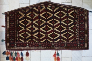 Turkmen Asmaligh Wool on Wool Age about 120 years Size 70 x 122 SOLD