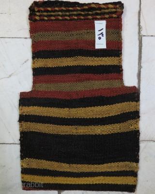 Khalaj Salt bag Kilim wool on wool age:about 100 years natural color size:36 x 23 price:POR